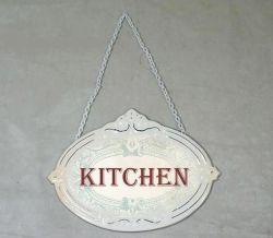 ..tabuľka na kuchynské dvere..