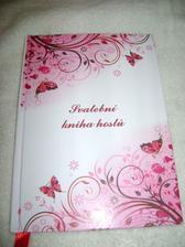 Svatební Kniha hostů, jsem zvědavá co nám do ní svatebčané napíší :-))