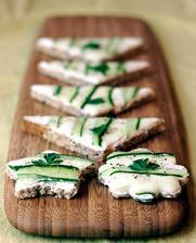 http://veganyumyum.com/2007/03/cucumber-tea-sandwiches/