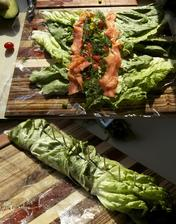http://www.thepescetarianandthepig.com/2012/11/06/low-carb-smoked-salmon-and-avocado-roll-ups/