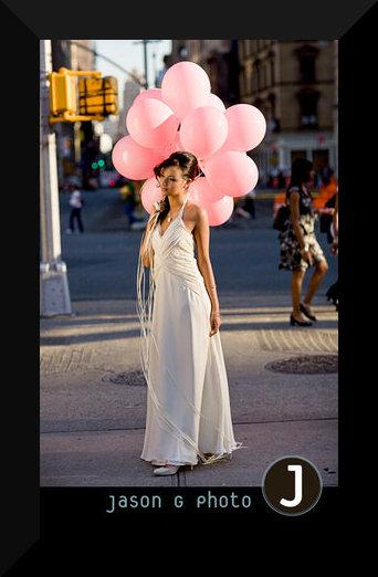 Inspirace na fotky - Úžasný nápad s balónky , rozhodně zkusím navrhnout fotografovi :-)