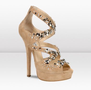 Botičky - Jimmy Choo z Bridal Collection 2011