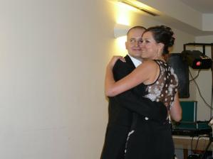 ... po všetkom sme si zatancovali posledný tanec svadby ...