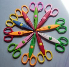 Dekorační nůžky za 126Kč z Popronu;o)