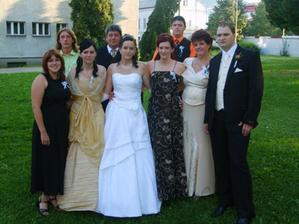 Moje sestry, bratia, rodičia a budúca švagriná  :)