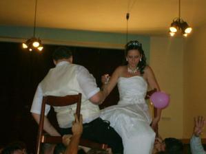 Veru som sa bála...ale skoro spadlo už manžel :)