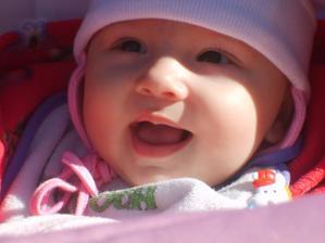 Moje najkrašie krsňa na svete!!! Bratova dcérka