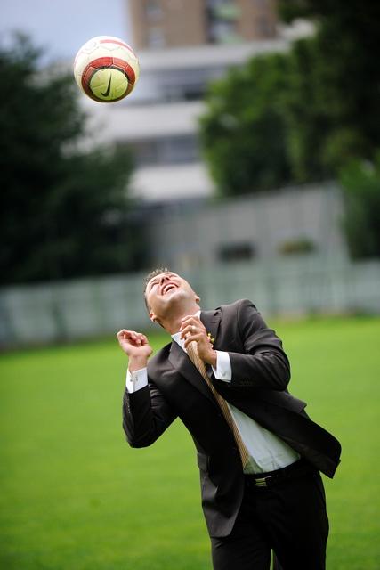 Linda{{_AND_}}Marián Zonygoví - malá ukážka futbalového umenia :) manžel je brankár