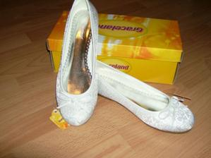 balerinky na prezutie - aby si nozky odychli