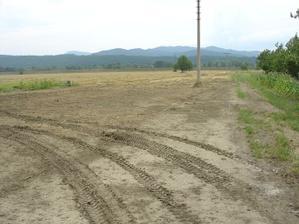Náš pozemok s výhľadom na Považský Inovec... Budúce miesto nášho domčeka...
