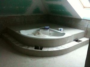 kúpelňa v podkroví...