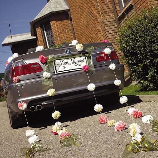 Vyzdoby svadobných  áut - super nápad