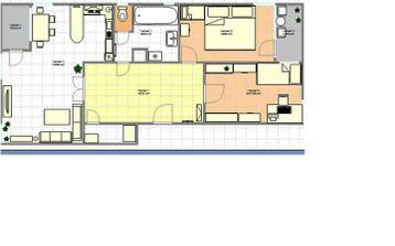 náš bytík - momentálne máme kupelnu takto