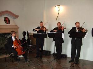 Bratranec Luďa s kvartetem