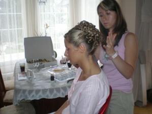 Česání nevěsty...