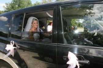 Příjezd nevěsty na Zámek Štiřín