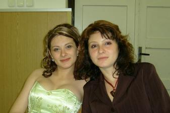 s mojou sestričkou Katkou