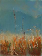 """""""bola to rýchla búrka"""", kresba suchým pastelom, formát A3 (predaný)"""