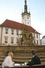 Olomoucké HORNÍ NÁMĚSTÍ nabízí spoustu krásných míst k fotografování