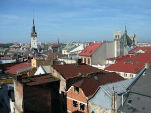 Nádherný výhled na Olomouc
