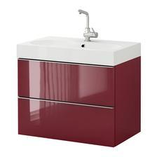 Skrinka Ikea Godmorgon, umývadlo Braviken
