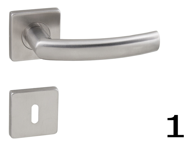 Ahojte, ktoré kľučky na interiérové dvere z týchto dvoch modelov by ste vybrali?  1. brúsená nerez (sú síce protipožiarne, čiže určené skôr do verejných priestorov, zato takmer nezničiteľné a dizajn podľa mňa tiež ujde): http://www.kluckynadvere.sk/produkt/740/wb-esso-af-hr-10042q-bn-brusena-nerez-16  2. chróm brúsený (dizajn podľa mňa super, odrádza ma plastové púzdro rozety): http://www.kluckynadvere.sk/produkt/740/klucka-fo-rio-hr-epr-ocs-chrom-bruseny  Vďaka. - Obrázok č. 1
