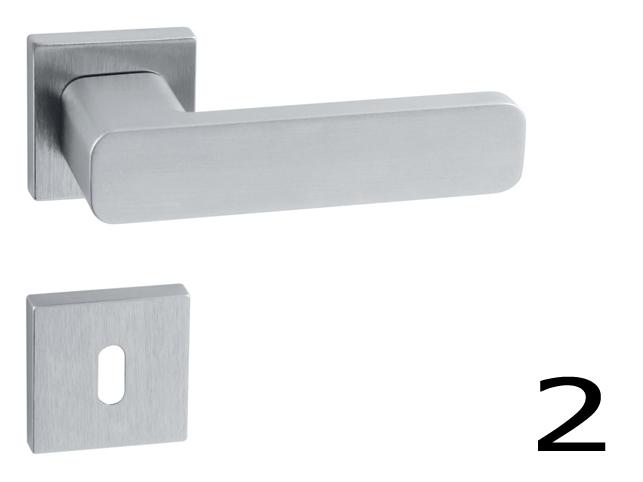 Ahojte, ktoré kľučky na interiérové dvere z týchto dvoch modelov by ste vybrali?  1. brúsená nerez (sú síce protipožiarne, čiže určené skôr do verejných priestorov, zato takmer nezničiteľné a dizajn podľa mňa tiež ujde): http://www.kluckynadvere.sk/produkt/740/wb-esso-af-hr-10042q-bn-brusena-nerez-16  2. chróm brúsený (dizajn podľa mňa super, odrádza ma plastové púzdro rozety): http://www.kluckynadvere.sk/produkt/740/klucka-fo-rio-hr-epr-ocs-chrom-bruseny  Vďaka. - Obrázok č. 2