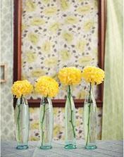 Chci použit u knihy hostů, ale s oranžovými květy :-)