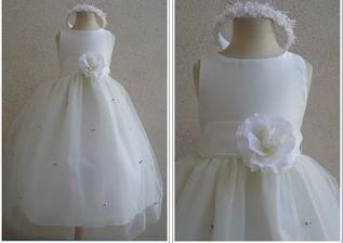 Šaty pro moje dvě úžasné družičky :-)
