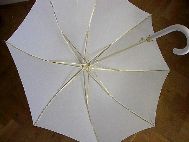 Andrejka a Peťko - Svadobný dáždnik č. 1 - hladký - keby pršalo