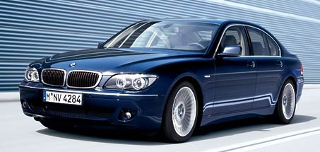 Svadobné autíčko - sedmičkové BMW
