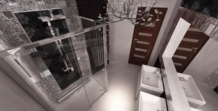 Vizualizácia kúpelňa