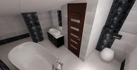Vizualizácia kúpelňa 2