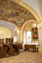 Kaple na zamku Zbiroh, kde si rekneme Ano :)