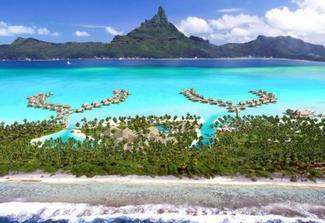 muj sen na honeymoon - Bora Bora