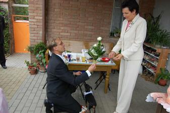 žádost i ruku nevěsty