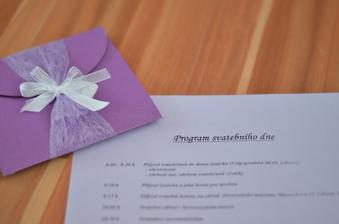 Program svatebního dne