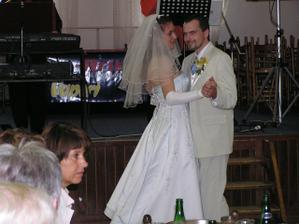 první taneček s manželem