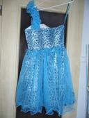 Spoločenské šaty leo blue, 38
