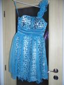 Slávnostné šaty leo blue, 36