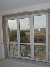 mé vysněné francouzské okno na balkon :)