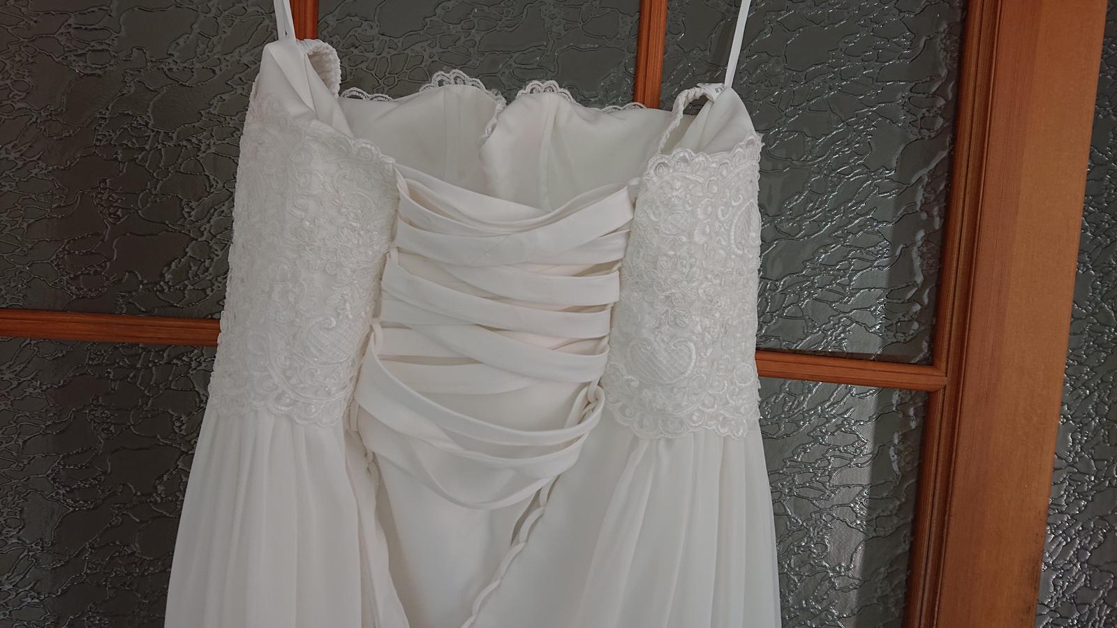 Těhotenské svatebni šaty  - Obrázek č. 2