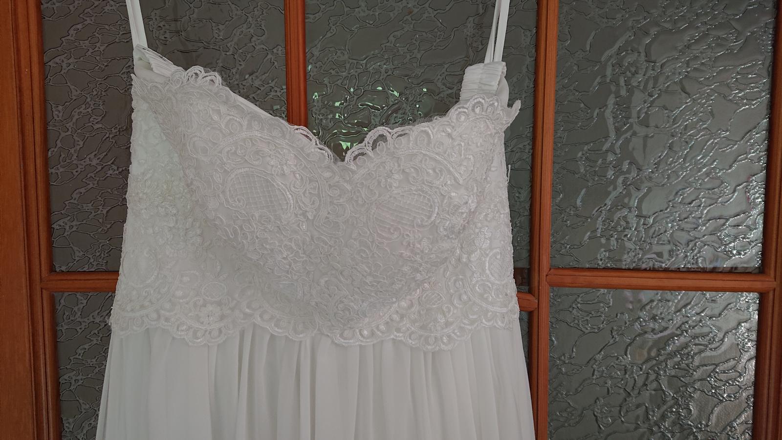 Těhotenské svatebni šaty  - Obrázek č. 3