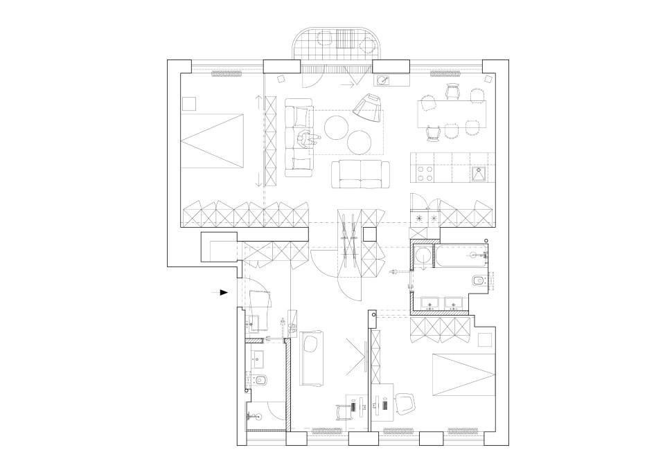 Rekonštrukcia Bytu G - BA Staré mesto - Obrázok č. 24