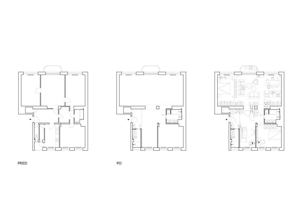 Rekonštrukcia Bytu G - BA Staré mesto - Obrázok č. 23