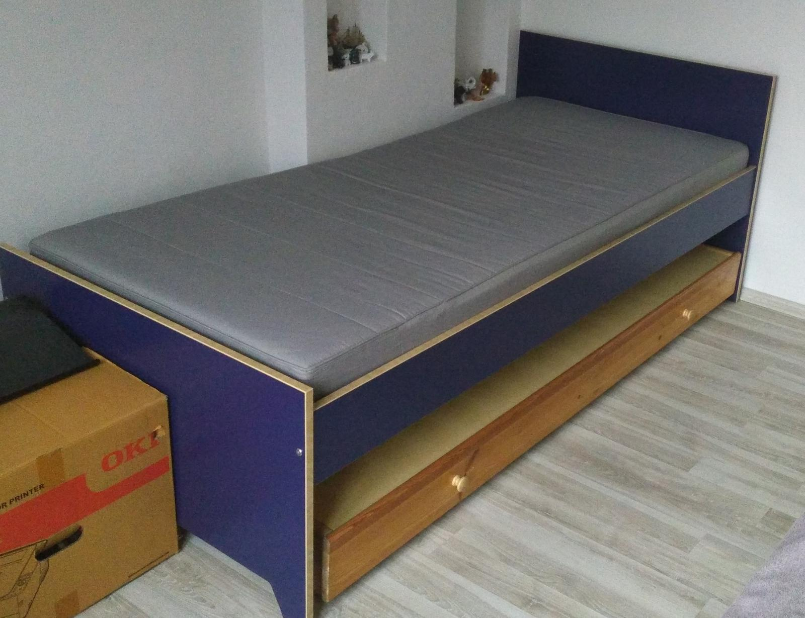 Lůžko Ikea-Robin - Obrázek č. 1