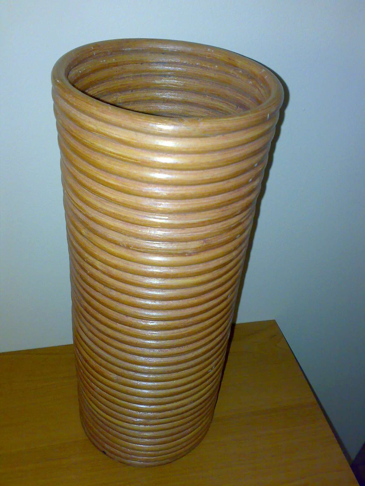 Nepoužívaná Váza ratanová - Obrázok č. 2