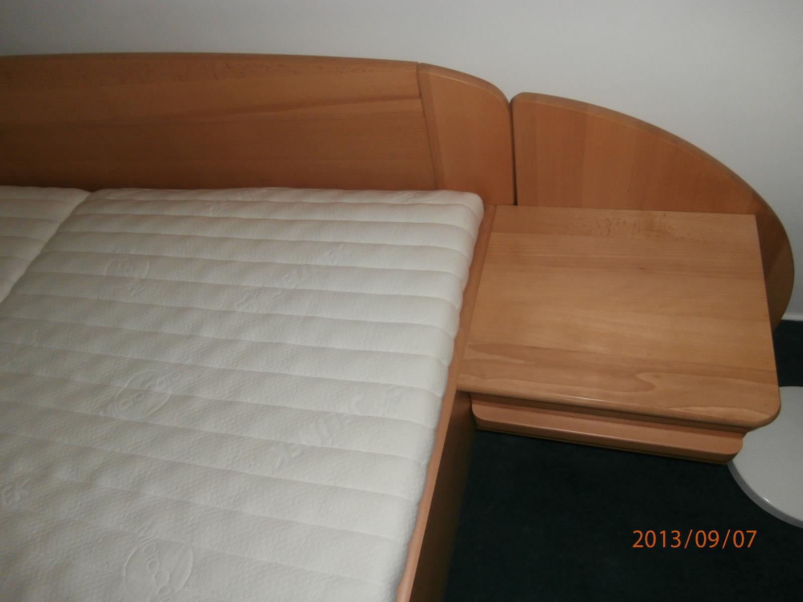 Nepoužívaná posteľ CELOMasív Buk 160x200 - Obrázok č. 1