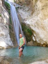 raritka ostrova - vodopády, a vyjeli jsem si tam na kole