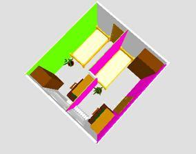 1. verzia-vymenený stolík so skriňou